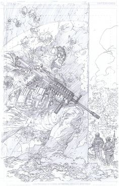 COD cover pencils by Jim Lee by INKIST.deviantart.com on @deviantART