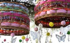 diy home decor dollar store Diy Luminaire, Fairy Birthday Party, Bohemian Decor, Boho Chic, Lamp Shades, Diy Crafts Videos, Decoration, Diy Home Decor, Projects To Try