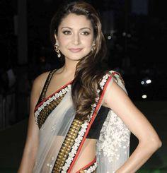 Anushka Sharma in saree hot photos bollywood actress in saree ...