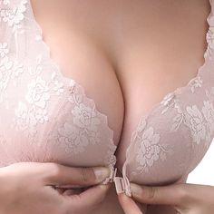 Deep V Lace Brassiere Bra Ultrathin Underwire Padded Underwear Kingwo Push Up Bra