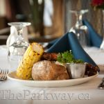 Housing for seniors featuring Fine Dining! The Parkway Retirement Community offers you the lifestyle that you deserve with fine dining by our Red Seal Chef Holidays And Events, Fine Dining, Dinners, Chicken, Live, House, Food, Dinner Parties, Home