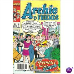 """Archie and Friends Comic #46 March 2001 Comics Series """"Riverdale High Exposed!"""" on eBid Canada"""