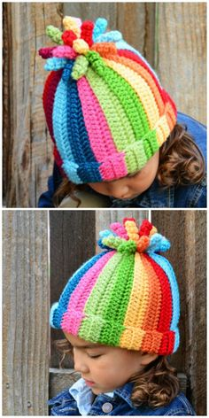 Catch a glimpse of all of the beautiful The Hat And I Crochet Patterns. Featuring gorgeous hats, blankets, totes and more, Childrens Crochet Hats, Crochet Kids Hats, Crochet Bunny, Crochet Crafts, Crochet Yarn, Crochet Projects, Knitted Hats, Girl Crochet Hat, Crochet Designs