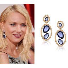 Vocês também amaram o brinco de safira que a atriz Naomi Watts usou na festa do Oscar? Na Divory você encontra lindas opções de joias com o azul nobre e precioso da gema. Vem conferir!!! #semijoia #joia # jewel #divacomdivory