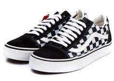 Tenis Vans Old Skool Xadrez Masculino Feminino Pretty Shoes, Cute Shoes, Me Too Shoes, Pumas Shoes, Converse Shoes, Converse Chuck, Tennis Vans, Vans Shoes Women, Shoes Wallpaper