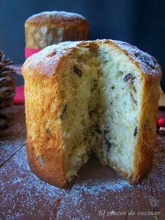 PANETTONE DE NUECES Y TROZOS DE CHOCOLATEEs tiempo de preparar dulces navideños, de aquí y de allí, de impresionar a los nuestros con recetas que nunca haya...