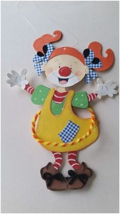Carnival Decorations, Carnival Themes, Circus Art, Circus Theme, Paper Crafts For Kids, Crafts To Make, Preschool Circus, Clown Images, Candy Tattoo