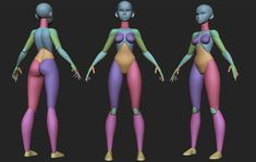 ArtStation - Stylized Female Prims Artstation Edition Zbrush Character, 3d Model Character, Character Modeling, 3d Modeling, Character Art, Girl Anatomy, Anatomy Models, Digital Sculpting, Body Sculpting