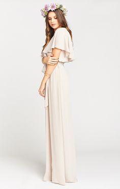Audrey Maxi Dress ~ Show Me the Ring Crisp | Show Me Your MuMu