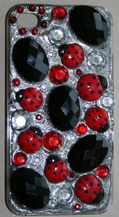Lady Bug Galore Iphone 4 Case by GIFToLOTY on Etsy, $35.00
