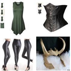 Ideas for my lady loki costume.