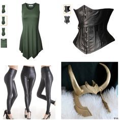 Ideas for my lady loki costume.