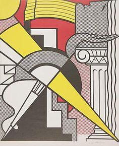 Roy Lichtenstein ~ Stedelijk Museum Poster, 1967 (lithograph)