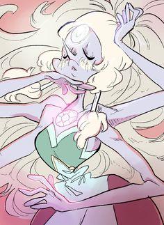 Opal   Steven Universe   Pearl x Amethyst