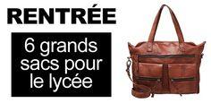 #Rentrée : 6 grands sacs pour le lycée >> http://www.taaora.fr/blog/post/sac-de-cours-lycee-marron-camel-beige