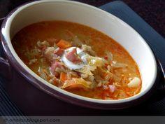 Egy finom, laktató leves, levesrajongók számára :) Hogy miért éppen legényfogó, azt nem értem, de ha valaki tudja, nem bánom, ha egy megjegyzésben leírja :) Legényfogó káposztaleves  Hozzával… Cabbage Soup Diet, Hungarian Recipes, Thai Red Curry, Food And Drink, Cooking Recipes, Ethnic Recipes, Instant Pot, Salsa, Foods