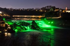 Rheinfall am St.Patrick's-Day