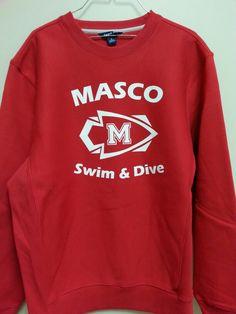 Swim & dive crew neck sweatshirt