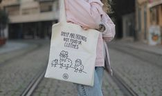 Vegan Tote Bag Sheep Are Friends Not food or Clothes