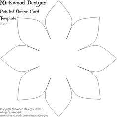 CLICK HERE FOR PART 1 OF THE FLOWER CARD TEMPLATE.