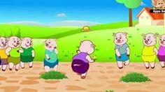 Ten Little Pigs - Nursery Rhyme