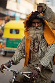 #people #humanity Varanasi - India
