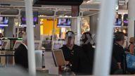 EXCLUSIVE VIDEO Matt Damon departs Brisbane