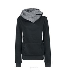 Casual Solid Lapel Hooded New Sweatshirt-Sweaters-Look Love Lust, https://www.looklovelust.com/products/casual-solid-lapel-hooded-new-sweatshirt