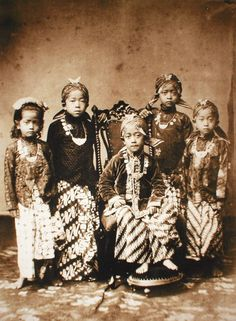 Javanese Royal Children