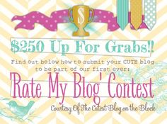 win a fabulous blog makeover :0)