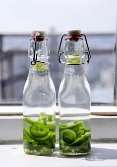 Jalapeno Infused Tequila