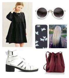 """(((:"" by jaramillorachel ❤ liked on Polyvore featuring Urban Renewal, ASOS, Sophie Hulme and Marc by Marc Jacobs"