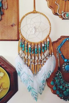 °Once Upon a Time Dreamcatcher in Brown