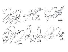 # signature gfriend gfriend sticker by yipiyu.