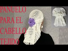 COMO TEJER PANUELO PARA EL CABELLO 🧶👩‍🦳 - YouTube Crochet Summer Hats, Crochet Hats, Crochet Videos, Thread Crochet, Ear Warmers, Head Wraps, Hair Accessories, Pattern, Bandanas