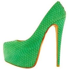 Christian Louboutin Daffodil - what a gorgeous color! I wonder what season it is? Dorothy Johnson