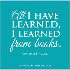 Read more books!  Love reading!