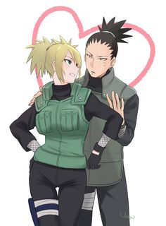 Naruto Shikamaru and Tamari Naruto Uzumaki, Anime Naruto, Naruto Shikamaru Temari, Naruto Cute, Manga Anime, Naruhina, Couple Naruto, Naruto Couples, Naruto Girls