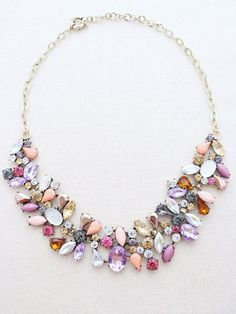 Lahaina Statement Necklace - pretty.  I can't wear necklaces at work because of ID badge, so this would be an after hours/weekend accessory.