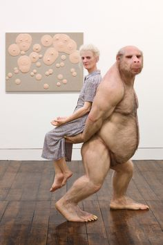 """""""The Carrier"""" by Patricia Piccinini   19 Lifelike Sculptures You Won't Believe Aren't Real"""
