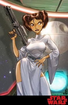 Star Wars - Princess Leia by Eddie Nunez