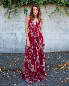 Hopeless Romantic Floral Maxi Dress