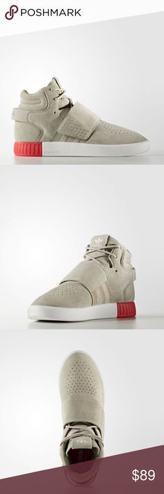 be748300990c0 New Adidas Tubular Invader Strap sneakers Red New with box Men s Adidas  Tubular Strap Sneakers.