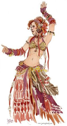 http://www.jenniegyllblad.com/artwork/bellydancer_red