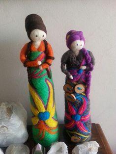 Muñecas de vellon :)