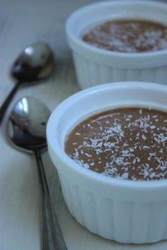 Panna cotta noix de coco chocolat, sans sucre ajouté ! (avec ou sans Cook'in) - La cuisine d'Anna et Olivia