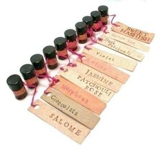 Deluxe Perfume Oil Sample Set by Scent by the Sea - A Bouquet of Lovelies