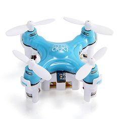VirgoDHD D1 Drone Smallest Headless Mode 24G 4CH 6Axis RC Quadcopter RTF BLUE Mode 2 Left Hand Throttle >>> You can get additional details at the image link. This Amazon pins is an affiliate link to Amazon.