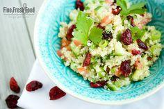 Quinoa-Taboulé mit Cranberries von @finefreshfood