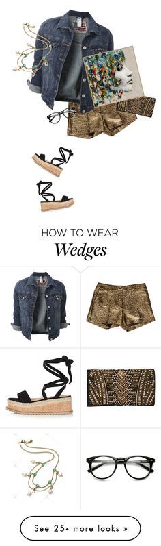 """""""Street  style"""" by janemichaud-ipod on Polyvore featuring Michael Kors, Topshop and Balmain"""